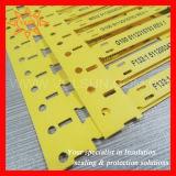 Hochleistungs--gelbe Kabel-Markierungs-Marken