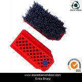 Silicone Carbide Abrasive Francoforte Wire Brush per Stone con Steel Wire