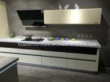Gabinete de cozinha da laca da mobília do Todo-Fósforo na cor branca
