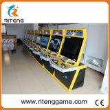 Tekken Spiel-Münzen-Säulengang-Maschinen mit Metallschrank