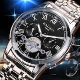 Wristwatch Mens многофункциональный с 3eyes на шкале 6hands
