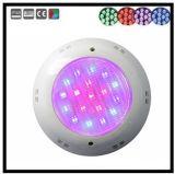 Luces subacuáticas de la piscina LED con el regulador
