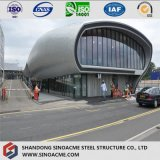Здание ферменной конструкции трубы стальной структуры для автобусной станции