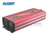 Venta Suoer Hot Power Inverter 2000W Energía Solar Inverter 12V a 220V modificó el inversor de onda sinusoidal para uso en el hogar con buena calidad (HAA-2000A)