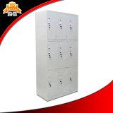 contenitore multifunzionale pratico di armadio del metallo dello spogliatoio as-030 con le serrature ed i tasti