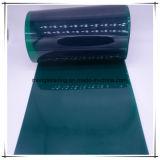 Cortina plegable clara del PVC, tira de la cortina del PVC