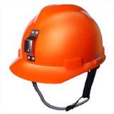 Casco de seguridad de la mina de carbón