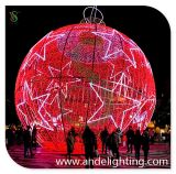 Outdoor DecorationのためのLED 3D Sphere Ball Shape Motif Light