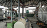 Waste de borracha Recycling a Oil 10ton Pyrolysis Machinery