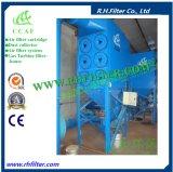 Colector de polvo grande del cartucho de la circulación de aire de Ccaf