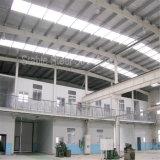De geprefabriceerde PoortWorkshop van de Structuur van het Staal van het Frame Lichte met Bureau