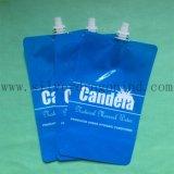 2L洗浄液体のための口が付いているプラスチック袋を立てなさい