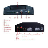 H. 264 8CH 3G Car Mdvr met 8PCS Camera en 7inch Vierling Monitor voor Bus/Truck