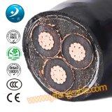 6/10 (11) de quilovolts, PVC 3X95mm2 Power Cable do Swa do Al XLPE