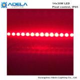 tira de controle impermeável ao ar livre do pixel da arruela da parede da barra do diodo emissor de luz 14X30W