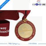 2017 золот чемпионата изготовленный на заказ высокого качества более дешевых/серебряных бронзовых медали спорта с тесемкой