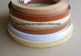 Bordure foncée de PVC/Lipping de constructeur de la Chine