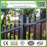 Polvo Coated Tubular Spear Top Steel Fence para Security