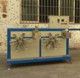 Hohe Kapazitäts-einzelnes Wand-gewölbtes Rohr-Plastikstrangpresßling-Zeile