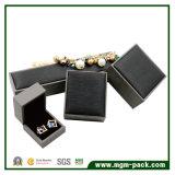 Classcial kundenspezifischer schwarzer Plastikschmucksache-Kasten