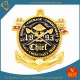 As forças armadas/polícia feitas sob encomenda/imprimiram/lembranças/moeda presente do desafio/concessão