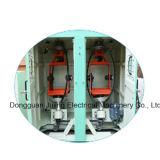 Double toronneuse verticale de câble de dos de bobine