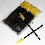 昇進の使い捨て可能なまつげはマスカラの細い棒にブラシをかける