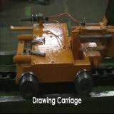 Barra do bronze e do Alu e máquina de desenho frio acorrentada Rod K