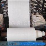 Polypropylene branco tela tecida do saco 60GSM
