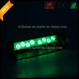 Color vert 2X4 DEL Interior Dash Warning Lights