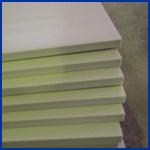 Scheda bianca della gomma piuma del PVC Celuka di colore utilizzata nella mobilia della stanza da bagno
