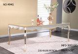 Vendas quentes Diningtable longo/mobília espelhada sala de visitas/mobília do hotel/mobília Home