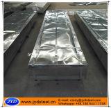 Hoja acanalada revestida del panel de la azotea del metal del cinc