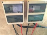 اثنان شمسيّ مدخل مؤتلف صندوق مع مصهر