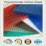 PC Gemellare-Wall Hollow Sheet di 4mm Plastic