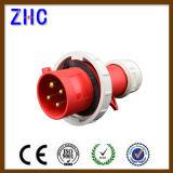 2p + E 16A 220V IP44 Portable Homme Plug industrielle