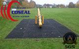 Циновка травы резиновый для засеванной травой палубы спортивной площадки мест напольной и как положения ледистого снежка прональные