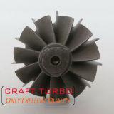 Asta cilindrica della rotella di turbina di Gt15 708450-0016