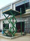 Hydraulisch angetrieben Scissor vorbildlichen Waren-Aufzug (SJG)
