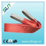 7:1 du GS 5t 10m de la CE de facteur de sûreté de bride de la sangle 100%Polyester de 5t*10m