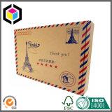 Cadre de expédition ondulé de papier d'expédition de Papier d'emballage d'impression de couleur de Flexo