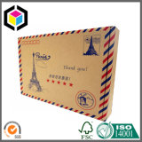 Коробка бумаги перевозкы груза Kraft печати цвета Flexo Corrugated пересылая