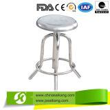 De goedkope Stoel van de Verpleegster van het Roestvrij staal van het Ziekenhuis Volledige Draaiende (CE/FDA/ISO)