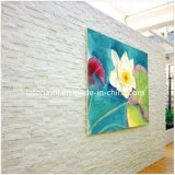 Cultured nero Stone Veneer Quartzite Wall Panel per Building Decorativer