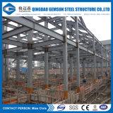Konzipiertes und Installations-Baustahl-Gebäude