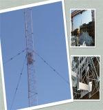 زلزاليّة ثمانية - مرحلة من إتصال سلك برج