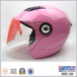 販売(OP203)の敏感なワインレッドのオートバイのヘルメット