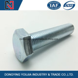ISO4018 Kohlenstoffstahl-volle Gewinde-Hexagon-Kopf-Schraube