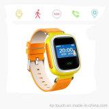 O melhor presente para a criança GPS caçoa o relógio do perseguidor com a faixa de relógio substituível