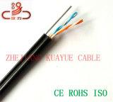 Netz-Kabel-Absinken-Draht-Telefonkabel
